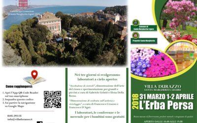 """Pasqua a Villa Durazzo: """"L' Erba Persa"""""""